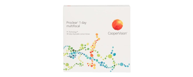 Verres de contact Proclear one day multifocal (90) - Doyle