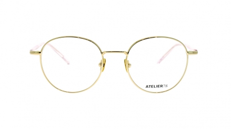 Glasses Atelier78 Bamboo, pink colour - Doyle