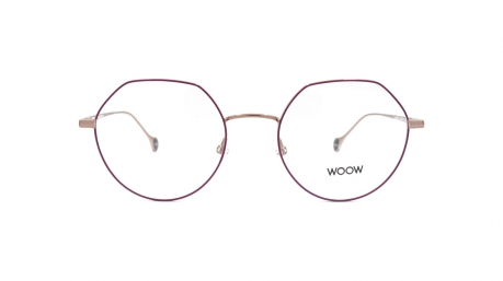 Glasses Woow Love me 1, red colour - Doyle
