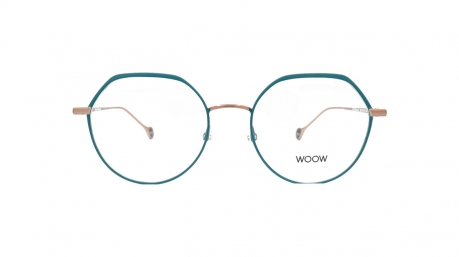 Glasses Woow Full moon 3, green colour - Doyle