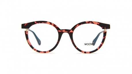 Glasses Woow Roof top 2, brown colour - Doyle