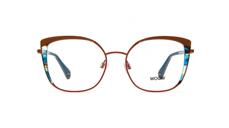 Glasses Woow Tres chic 2, brown colour - Doyle