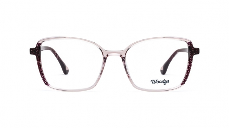 Glasses Woodys Carrot, pink colour - Doyle