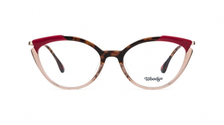 Glasses Woodys Paprika, red colour - Doyle